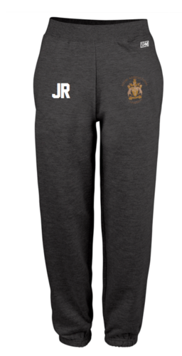 Royal Agricultural Lacrosse Black Womens Sweatpants (Lacrosse Under Logo)