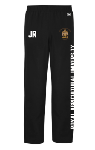 Royal Agricultural Lacrosse Black Womens Tracksuit Bottoms (Lacrosse Under Logo)