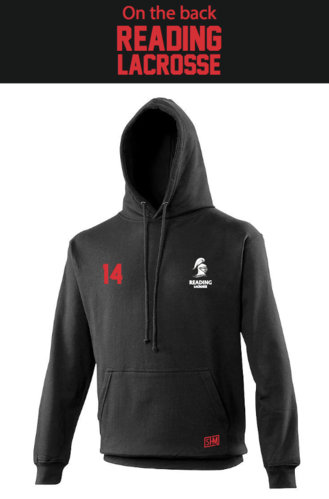 Reading Lacrosse Black Womens Hoody (Not Mixed)