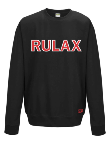 Reading Lacrosse Black Unisex Sweatshirt (Not Mixed)