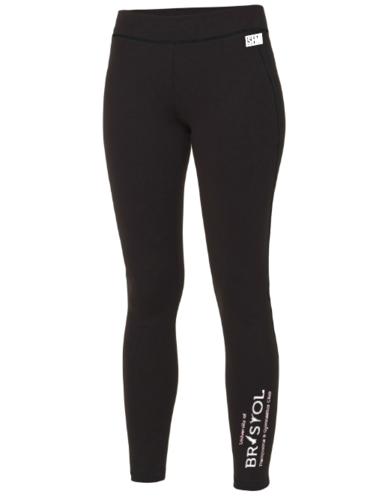 Bristol T & G Black Womens Leggings