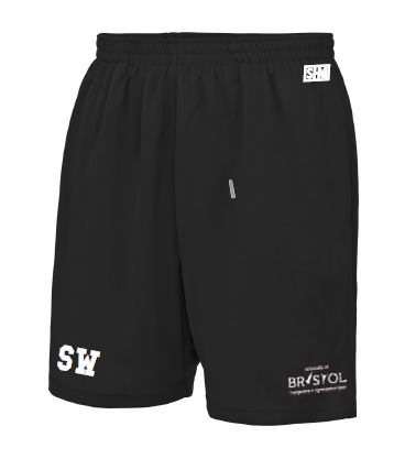 Bristol T & G Black Mens Shorts