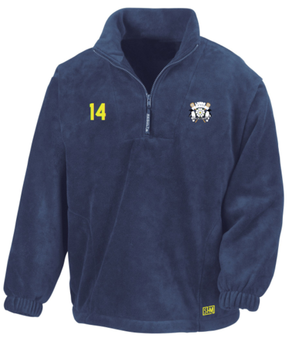 Leeds Lacrosse Unisex Navy Fleece