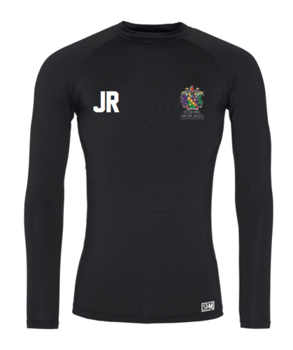 Edge Hill Water Polo Black Mens Baselayer