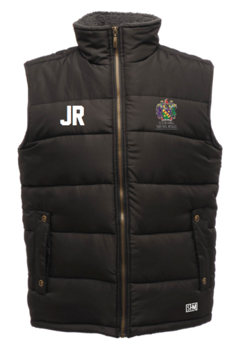 Edge Hill Water Polo Black Mens Gilet