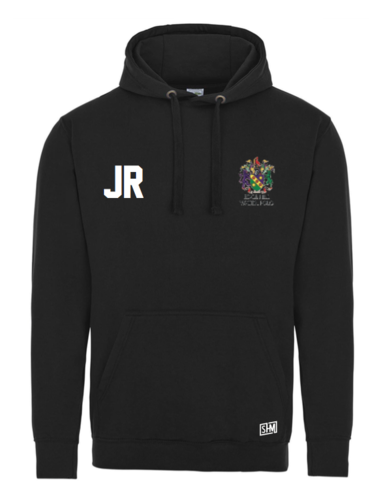 Edge Hill Water Polo Black Unisex Polyester Hoody