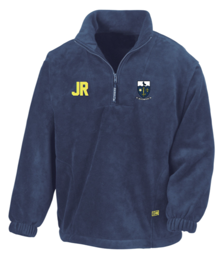 Hull University Lacrosse Navy Unisex Fleece