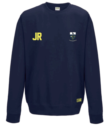 Hull University Lacrosse Navy Unisex Sweatshirt (Team Name On Back)