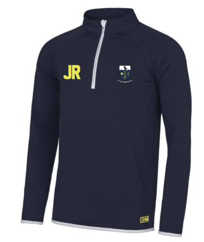Hull University Lacrosse Mens Navy Performance Sweatshirt (Team Name On Back)
