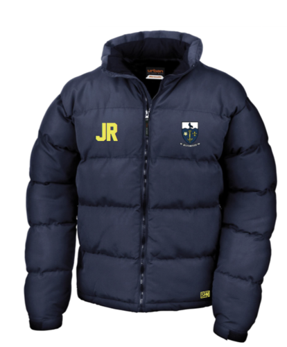 Hull University Lacrosse Mens Navy Puffa (Team Name On Back)