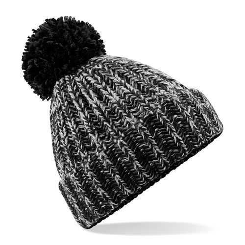 Stirling Badminton Black  Beanie (Logo On Front)