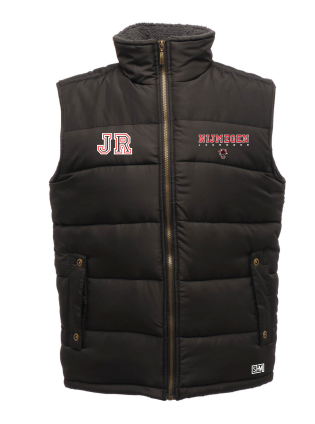 Keizerstad Kannibalz Mens Black Gilet (All Print)