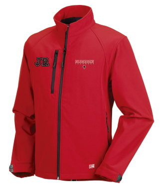 Keizerstad Kannibalz Red Womens Softshell Jacket (All Print)