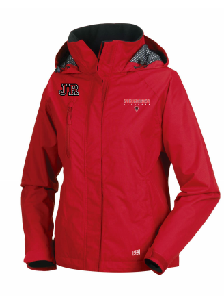 Keizerstad Kannibalz Red Womens Hydroplus Hooded Jacket (All Print)