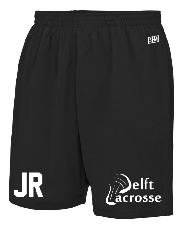 Delft Lacrosse Black Mens Shorts