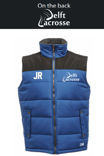 Delft Lacrosse Royal Blue Mens Gilet