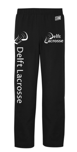Delft Lacrosse Black Mens Trackies
