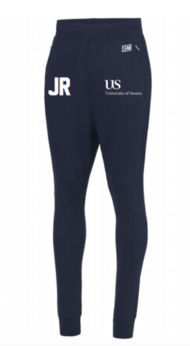 Sussex University Lacrosse Navy Tapered Sweatpants