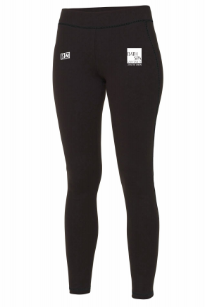 Bath Spa Polo Womens Black Leggings