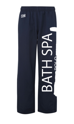 Bath Spa Polo Mens Navy Trackies
