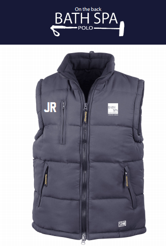 Bath Spa Polo Mens Navy Gilet
