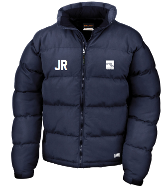 Bath Spa Polo Mens Navy Puffa (Bath Spa Polo In White On Top Back In Small)
