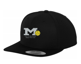 Manchester Water Polo Black Snapback (All Embroidery)