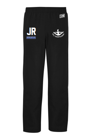 Trent Trampolining Mens Black Trackies