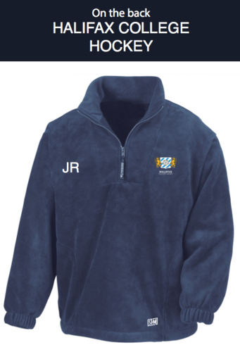 Halifax Hockey Navy Unisex Fleece (All Embroidery)