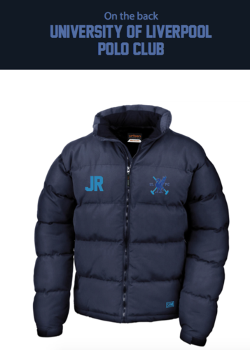 Liverpool Polo Unisex Navy Puffa (All Print)