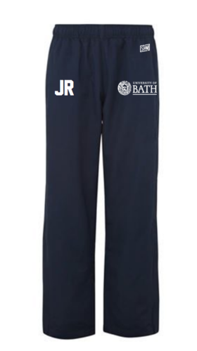 Bath Equestrian Navy Womens Trackies (Logo Emboridery, Everything Else Print)