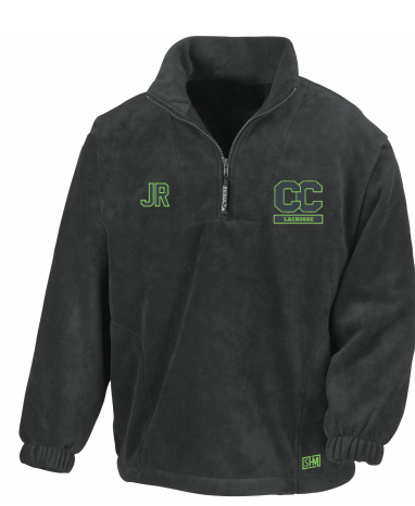 Canterbury Lacrosse Black Unisex Fleece (All Embroidery)