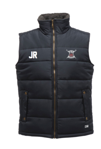 Derby Rowing Navy Unisex Gilet (Logo Embroidery, Everything Else Print)