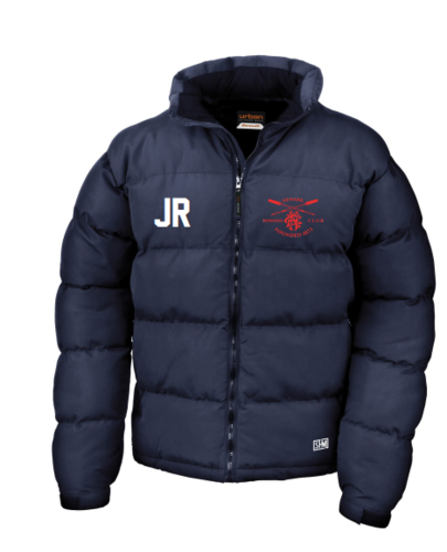 Newark Rowing Navy Unisex Puffa (Logo Embroidery, Everything Else Print)