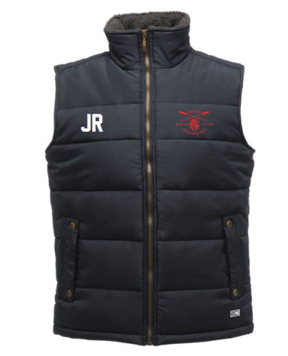 Newark Rowing Navy Unisex Gilet (Logo Embroidery, Everything Else Print)