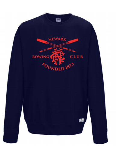 Newark Rowing Navy Unisex Sweatshirt (All Print)