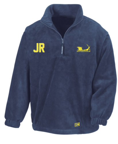 Nottingham Rowing Navy Unisex Fleece (Everything Embroidery)