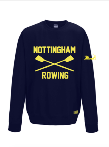 Nottingham Rowing Unisex Navy Sweatshirt (All Print)