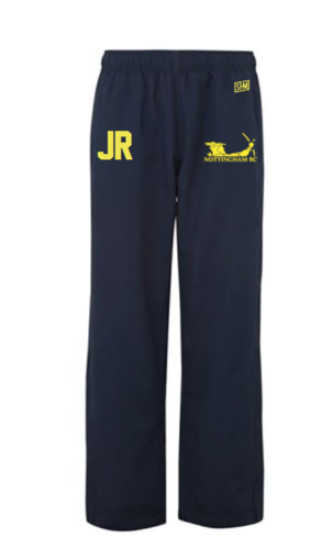 Nottingham Rowing Navy Mens Trackies (Logo Embroidery, Everything Else Print)