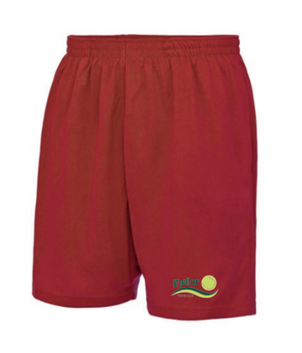 Mellor Tennis Unisex Senior Playing Shorts (Logo Embroidery)