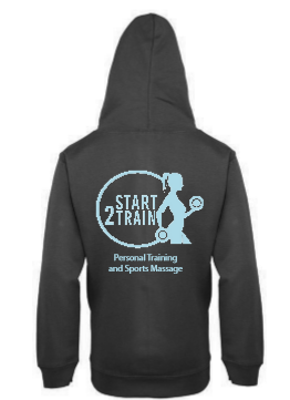 Start 2 Train Black Unisex Zoodie (All Print)