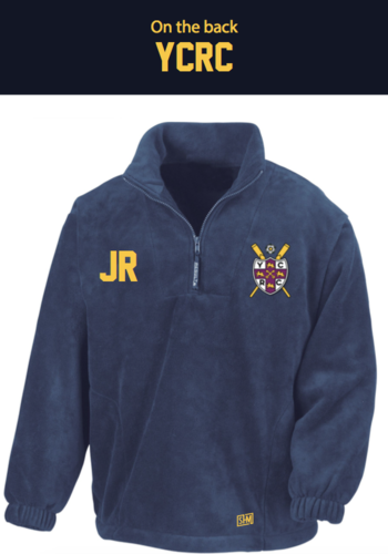 York City Rowing Navy Unisex Fleece (All Embroidery)