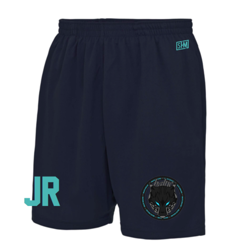Baltic Basketball Navy Unisex Shorts (All Print)