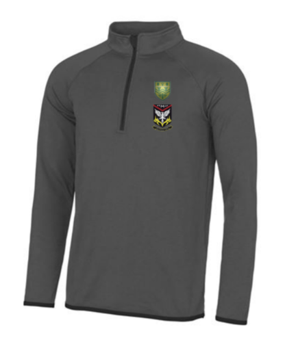 Mersey Cheadle Cricket Grey Womens Performance Sweatshirt (All Embroidery)