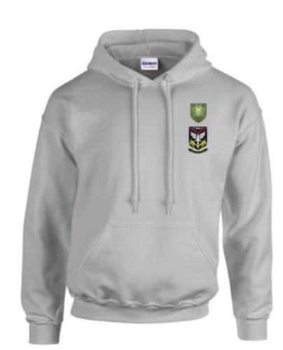 Mersey Cheadle Cricket Sport Grey Unisex Hoody (All Embroidery)