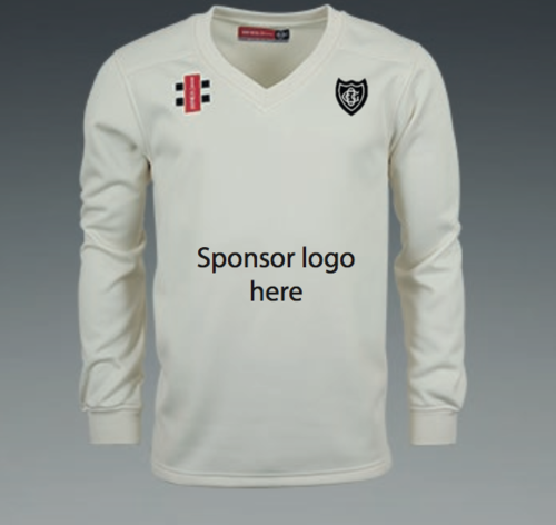 Old Glossop Junior Velocity Sweater With Sponsor Logo
