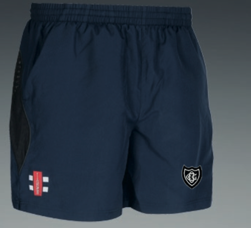 Old Glossop Navy Junior Shorts