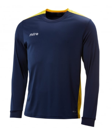 St Joesph Charge Navy/Yellow Senior Shirt With Logo