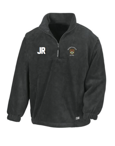 Exeter Volleyball Black Unisex Fleece (All Embroidery)