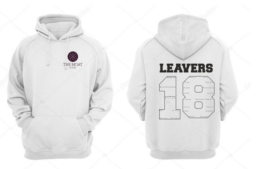 5154bd543a The Moat Unisex Leavers Hoodie (Logo Embroidery